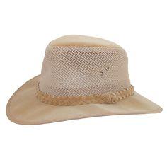d453b8d82b25c Dorfman Pacific Men s Water Soaker UPF 50+ Mesh Sides Safari Hat