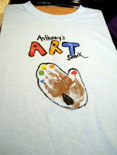 Design your Own Keepsake Hand Palette Art Smock