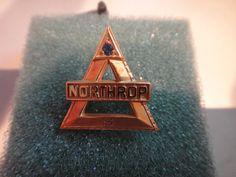 Northrop Aircraft 5 Year Service Pin  10K Gold  by MilliesAttique