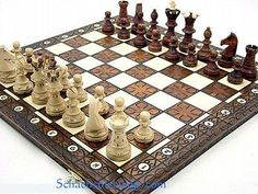 Royal lux #large #wooden chess set handcrafted w/ board #54x54 ajedrez,  View more on the LINK: 	http://www.zeppy.io/product/gb/2/222088682200/