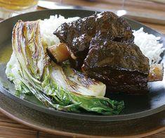 Asian-Glazed Braised Short Ribs Recipe