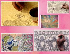 kalamkari how to