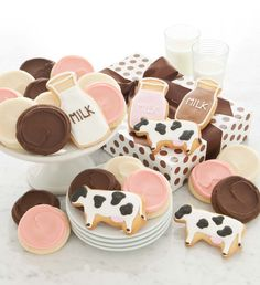 milk and cookie decorations | milk and cookies decorations - Google Search