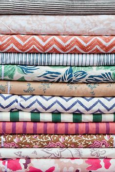 Kerry Cassill - Luxury Indian printed Bedding and Apparel — Upholstery Fabric 2013