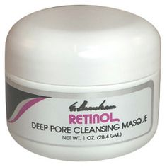 Retinol Deep Pore Cleansing Masque - 1 Oz. - Deep Pore Cleansing Masque is a special creamy clay formula that absorbs impurities and tightens pores to smooth skin, stimulating circulation and giving your skin a radiant, healthy glow. Our Deep Pore Cleansing Mask is made with Kaolin which has been used by women for many years to clear pores and to maintain a youthful appearance. Clear Pores, Tighten Pores, Pore Cleansing, Charcoal Mask, Vaseline, Smooth Skin, Skin Care Tips, Baking Soda, Glow