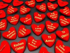 Resultado de imagen de te quiero en distintos idiomas