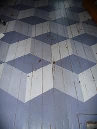 Painted Floor- simple pattern, another classic.