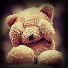 Shy Bear by Teddy Pineapple Creations My Teddy Bear, Cute Teddy Bears, Cute Profile Pictures, Cute Pictures, Profile Pics, Profile Photo, Very Cute Baby, Teddy Bear Pictures, Whatsapp Dp Images