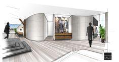 Vorraum Skizze - work in progress #skizze #workinprogress #innenarchitektur #einrichtung #architektur Oversized Mirror, Interiors, Inspiration, Furniture, Home Decor, Sketches, Interior Designing, Projects, Biblical Inspiration