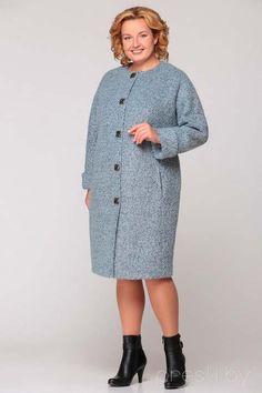 Пальто для полных женщин ведущих белорусских производителей, осень-зима 2016-2017