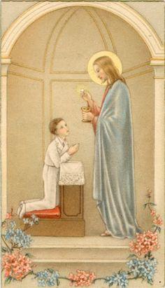 Estampas de primera comunión | Directorio de la Iglesia Católica