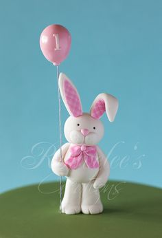 1st Birthday Bunny by Rouvelee's Creations, via Flickr