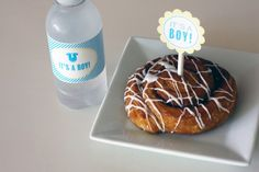 "FREE ""It's a Boy"" Baby Shower Printables from Green Apple Paperie"