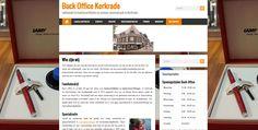 De eerste website http://www.kantoorartikelenkerkrade.nl/