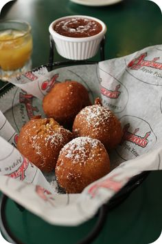 Applewood Farmhouse Restaurant - Eat some homemade apple fritters and apple butter to start off your meal. Come eat some country cookin'! You'll love it here!