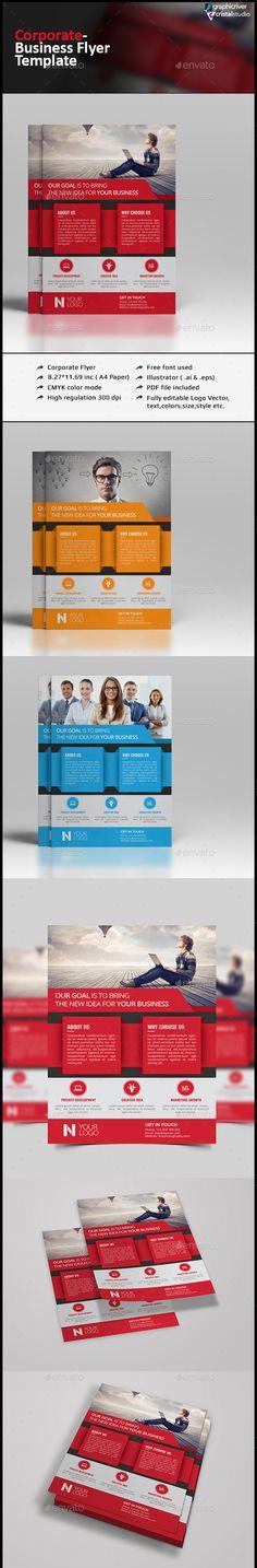Corporate Flyer Template-Multipurpose