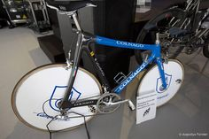 Colnago TT bike with Campagnolo full groupset: These were used by the Squadra Azzurra at the 1992 Olympicwith great success.
