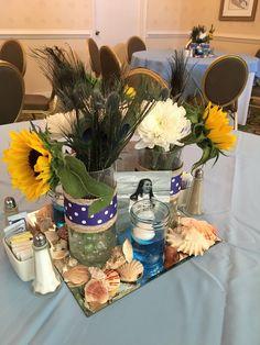 Custom Centerpieces for a Graduation Celebration at The Berkeley Hotel RVA Berkeley Hotel, Catering Menu, Centerpieces, Table Decorations, Graduation Celebration, Hotel Offers, Events, Home Decor, Decoration Home