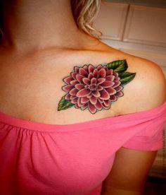 november birth flower tattoo - Google Search