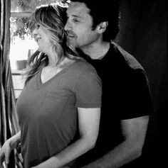 it's your tiny, ineffectual fists. and your hair. Greys Anatomy Derek, Greys Anatomy Funny, Greys Anatomy Couples, Grey Anatomy Quotes, Medical Series, Greys Anatomy Characters, Meredith And Derek, Jenifer Aniston, Derek Shepherd