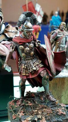 Roman Armor, Pax Romana, Roman Soldiers, Mini Paintings, Ancient Art, Little People, Warfare, Fantasy Art, Action Figures