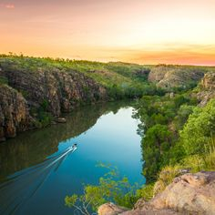 Nitmiluk National Park Katherine Gorge Choose whether to walk, swim, canoe, boat, or fly through the spectacular Nitmiluk National Park  and its world-famous gorge system.