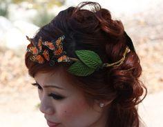 butterfly headband!
