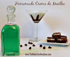 homemade creme de menthe recipe learn how to make homemade creme de ...
