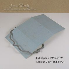 Sizzix: Die Cutting Inspiration and Tips: Flip-its Gift Pocket Card