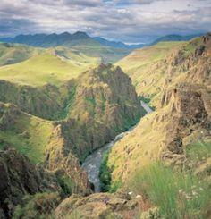 OREGON: Hells Canyon National Recreation Area. Enterprise, OR 97828