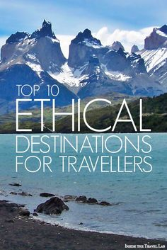 Ethical Traveler's best ethical tourism destinations based on environmental…