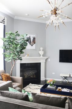 This living room is everything! http://www.stylemepretty.com/living/2015/11/08/eclectic-home-tour-with-a-strong-lighting-game/   Photography: Danielle Moss - http://www.danielle-moss.com/