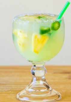 Jalapeno Infused Margarita  The perfect cocktail for any barbecue