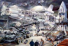 rocket base by Avi_Abrams, via Flickr