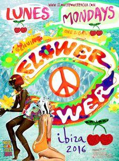 Pacha Flower Power on mondays #ibizaimages #Pacha #ibiza2016