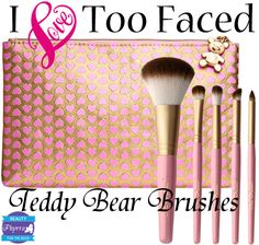 Too Faced Teddy Bear Brushes Review
