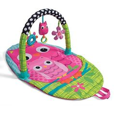 infantino Explore and Store Owl Activity Gym $29.99