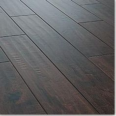 Dark hard wood floors are amazing, they are rustic and if you buy engineered and do them yourself relatively inexpensive! Love!