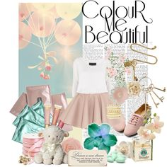"""""""08. Color me beautiful :)"""" by redbird94 ❤ liked on Polyvore"""