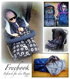 Fußsack für den Buggy – Freebook