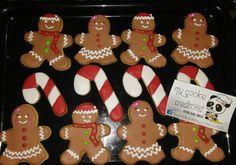 Parte de de los diseños hechos para la orden entregada de 8 docenas navideñas para actividad universitaria. #inlove  #christmascookies #christmas #candycane #gingerman #gingermancookies #candycanecookies #mycookiecreations #cookies