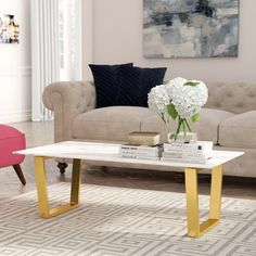 Germana Marble Coffee Table