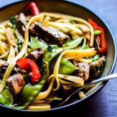 Steak and Veggies Noodle Stir Fry