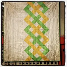 Helix quilt completed. Made as a Christmas gift for my nephew, Aidan.  #pinitsewit