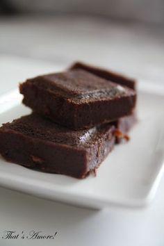 Fondant au chocolat et à la crème de marrons. Recette Ptitchef
