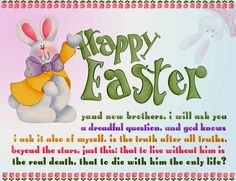 Happy Easter Sunday Wishes SMS Messages with Greetings Pictures Easter Poems, Happy Easter Quotes, Happy Easter Wishes, Happy Easter Sunday, Happy Easter Greetings, Easter Greeting Cards, Easter Sayings, Inspirational Easter Messages, Easter Wishes Messages