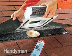 Venting Exhaust Fans Through The Roof