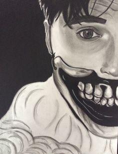 Dandy Mott American horror story freak show charcoal