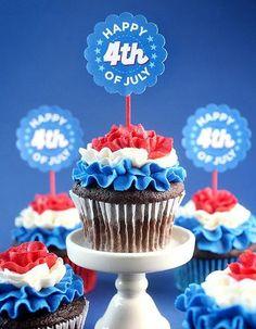 Gâteau Independence Day : découvrez nos 10 idées de gâteaux pour fêter l'Independence Day...