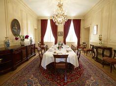 Salle à manger du Château de La Dauphine